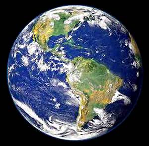 The Earth is the only planet known to us, having the following characteristics